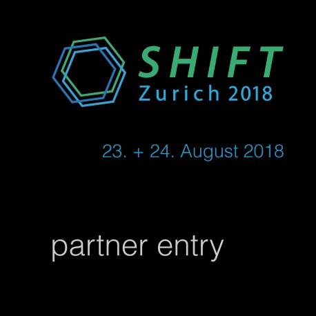 SHIFT Zurich 2018 E-Ticket swisscleantech