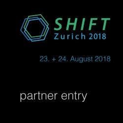 SHIFT Zurich 2018 E-Ticket swisscleantech